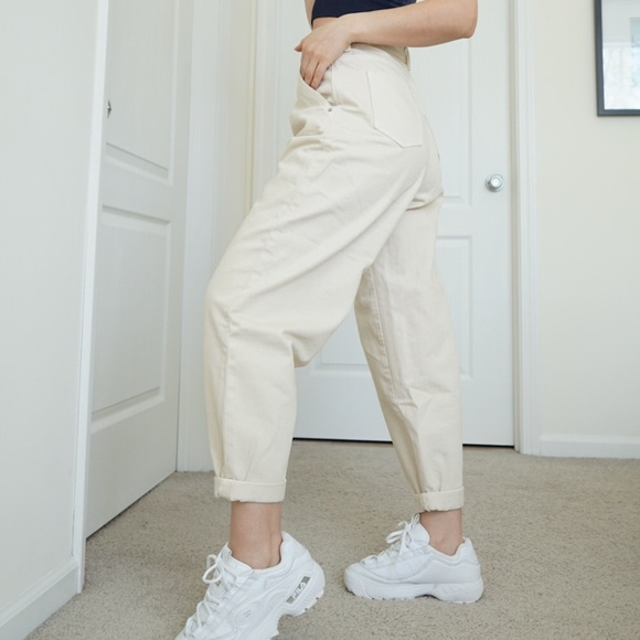 Zara Balloon high Rise Jeans